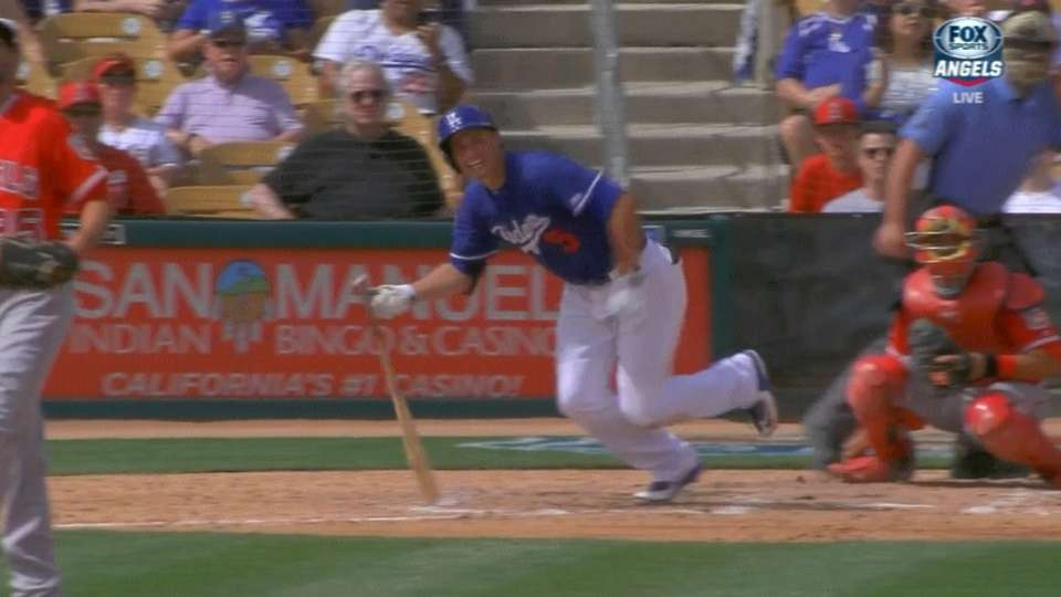 Seager leaves game as precaution