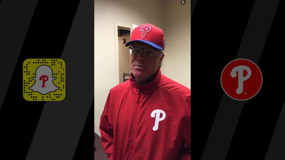 See the Phils' Snapchat journey
