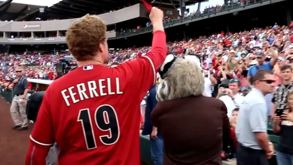 D-backs air out Will Ferrell