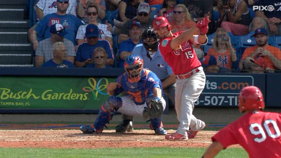 Cards crush four homers vs. Mets