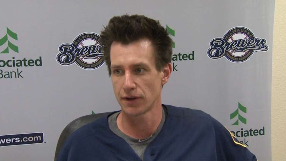 Counsell on corner infielders