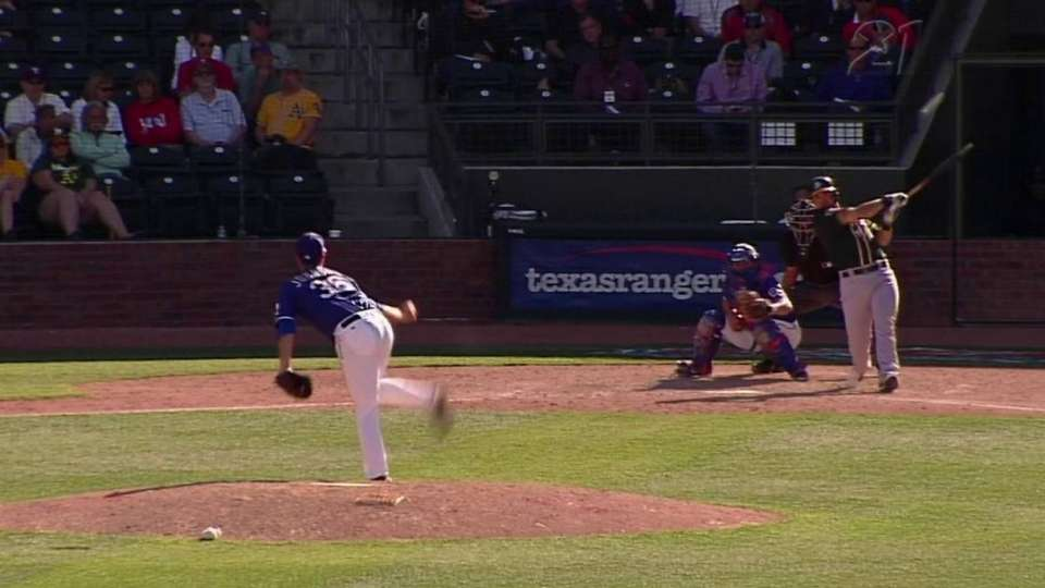 Nunez's RBI double to left field