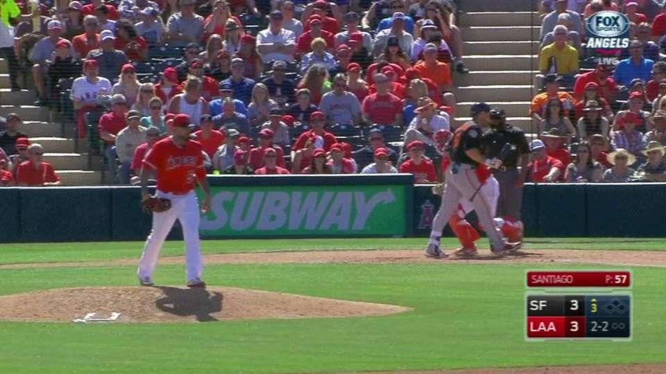 Santiago strikes out Williamson