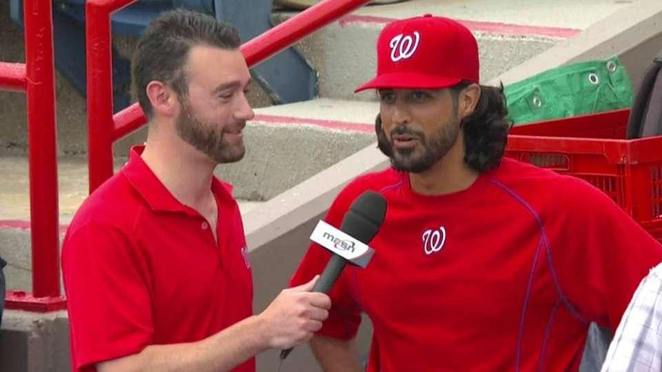 Gonzalez discusses his beard