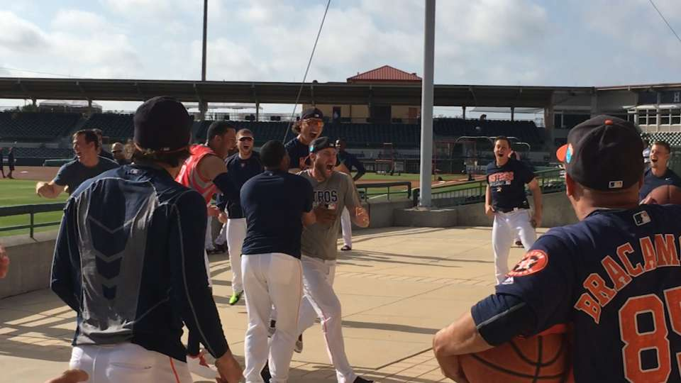 Astros have own March Madness