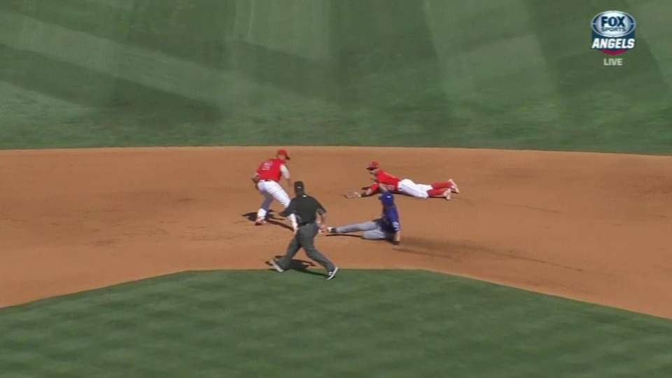 Giavotella's heads-up play