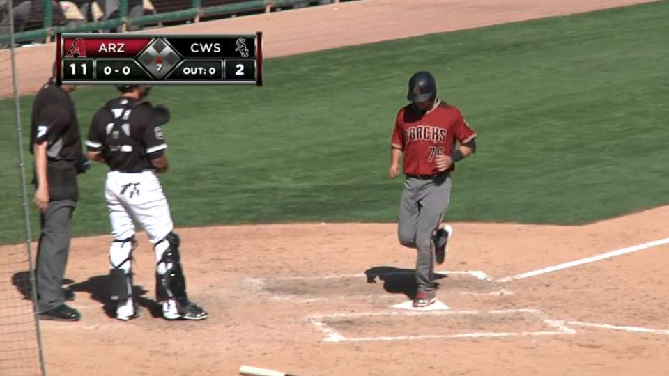 Rivero's three-run homer