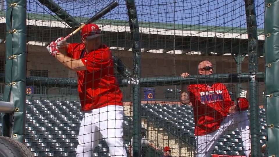 Trout on his approach to at-bats