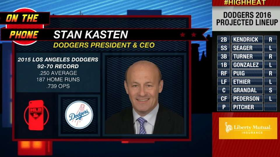 Stan Kasten joins High Heat