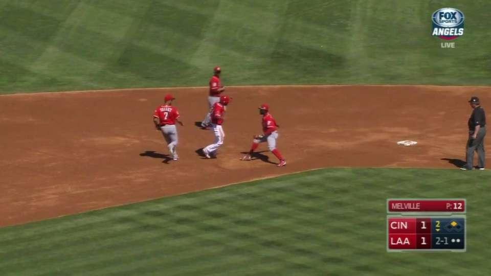 Melville picks off Ortega