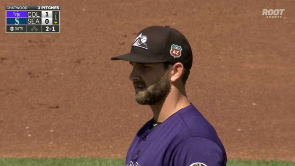 Chatwood discusses his outing