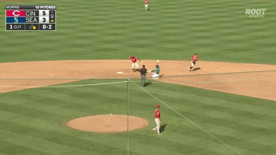 Morris notches the save