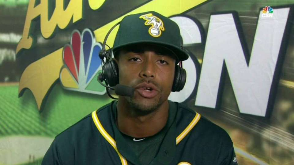 Davis on joining A's