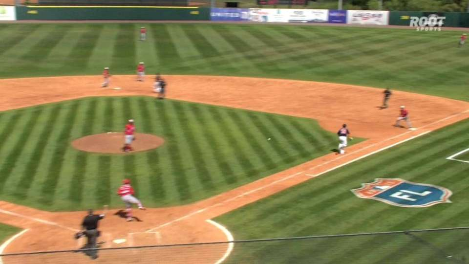 Badenhop starts double play