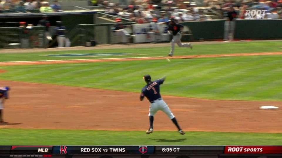 Correa's fantastic defense