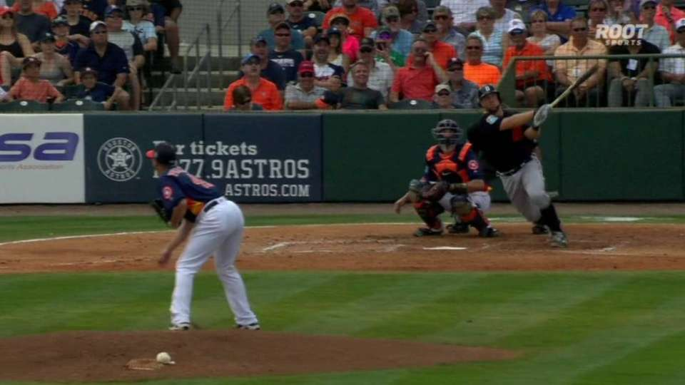 Holaday's two-run shot