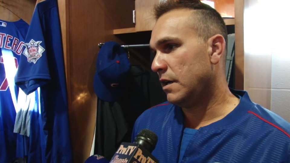 Montero on Cubs' pitching staff