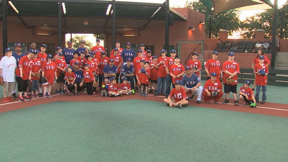 Rangers host youth fantasy camp