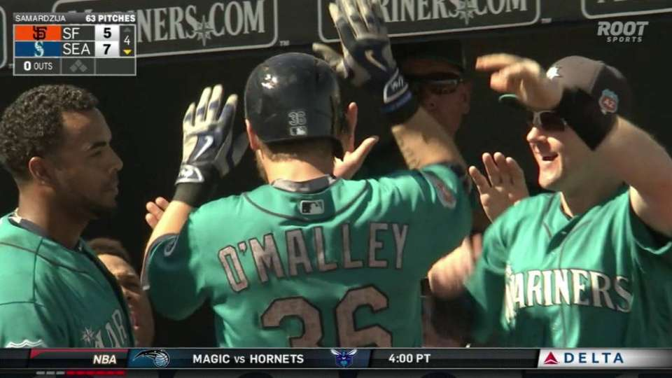 O'Malley's home run