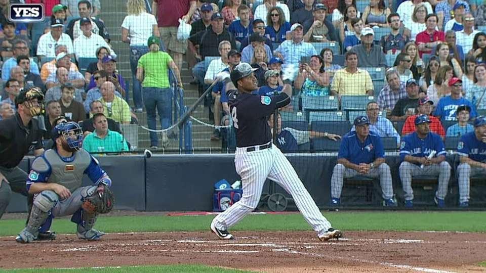 Castro's two-run home run