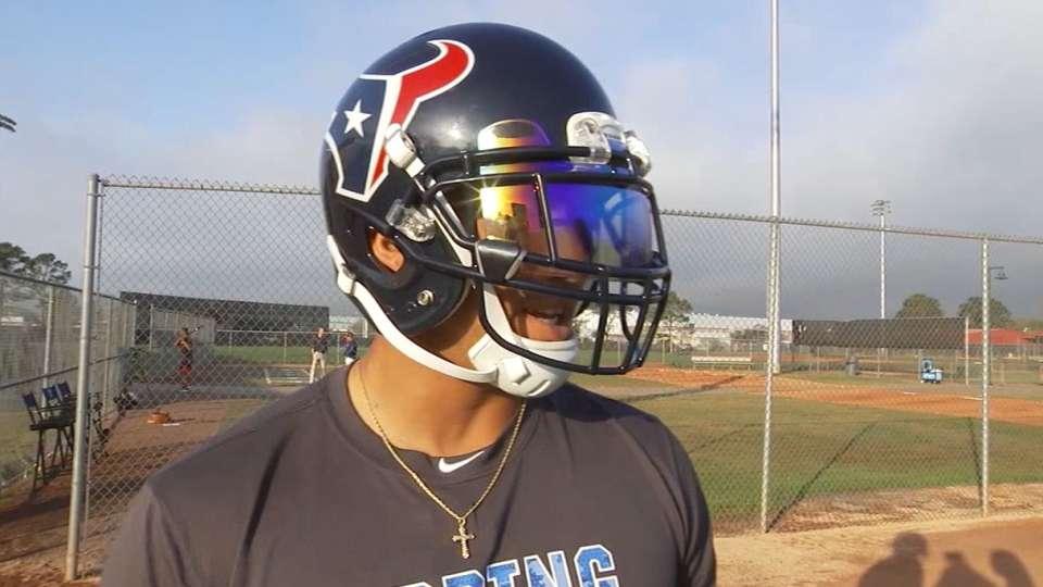 Springer on Texans, teammates