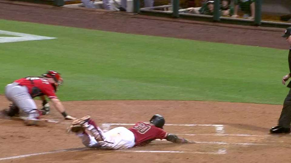 Goldy's second RBI hit