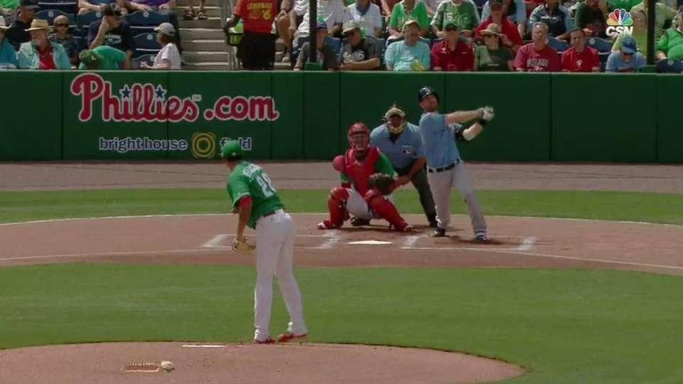 Forsythe's leadoff home run
