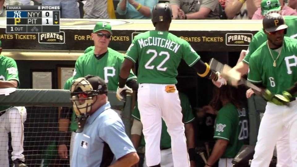 McCutchen's solo homer