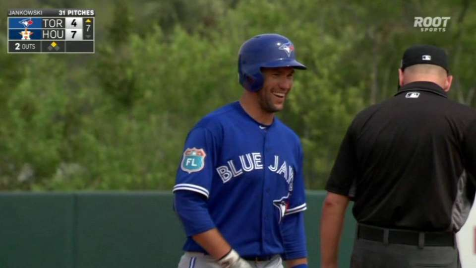 Thole's two-run double