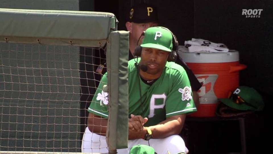 Young discusses first basemen