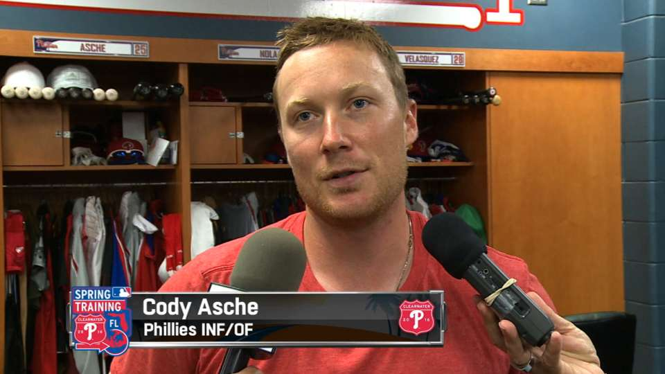 Asche on recovering from injury