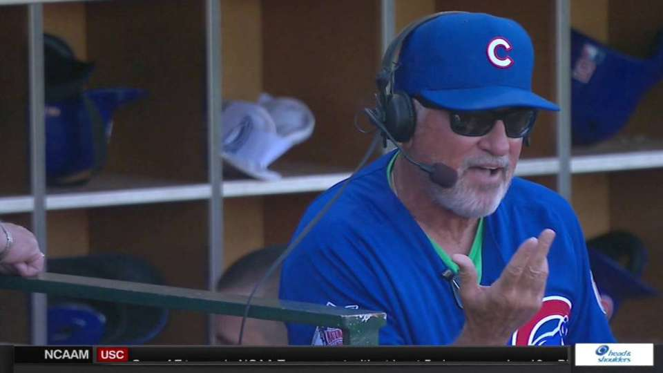 Maddon discusses his foundation