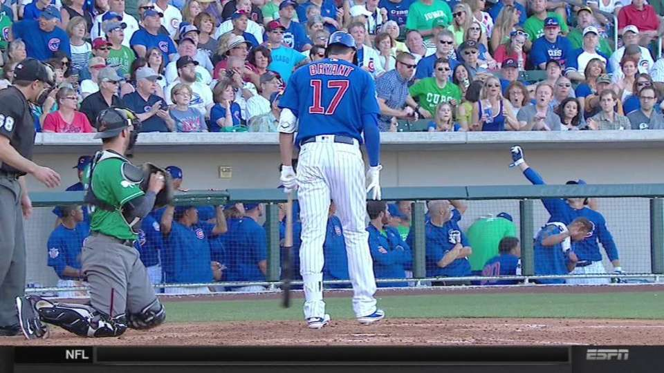 Rizzo's slick stop in the dugout