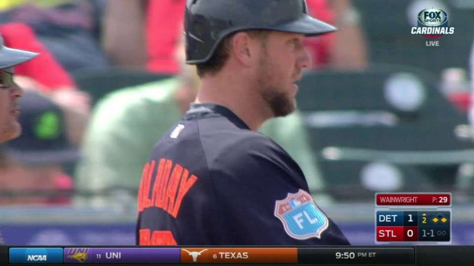 Holaday puts Tigers on the board