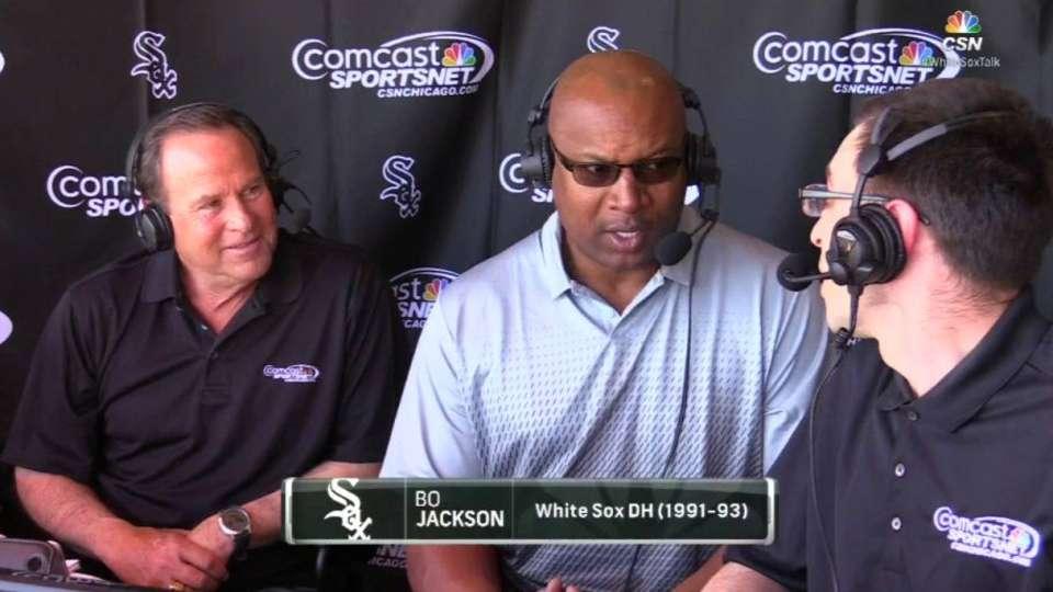 Jackson discusses team, future