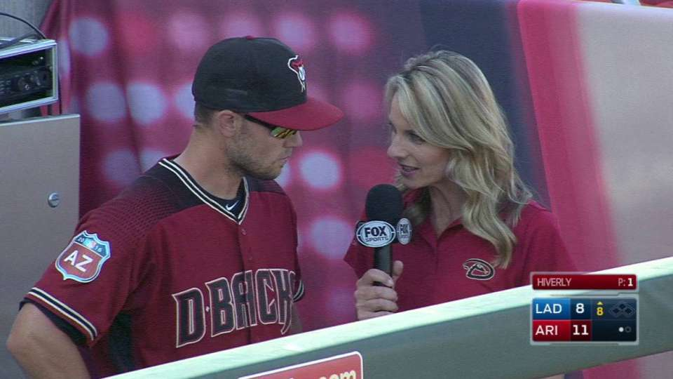 Owings 8th inning interview