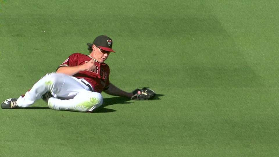 O'Brien's sliding grab in left