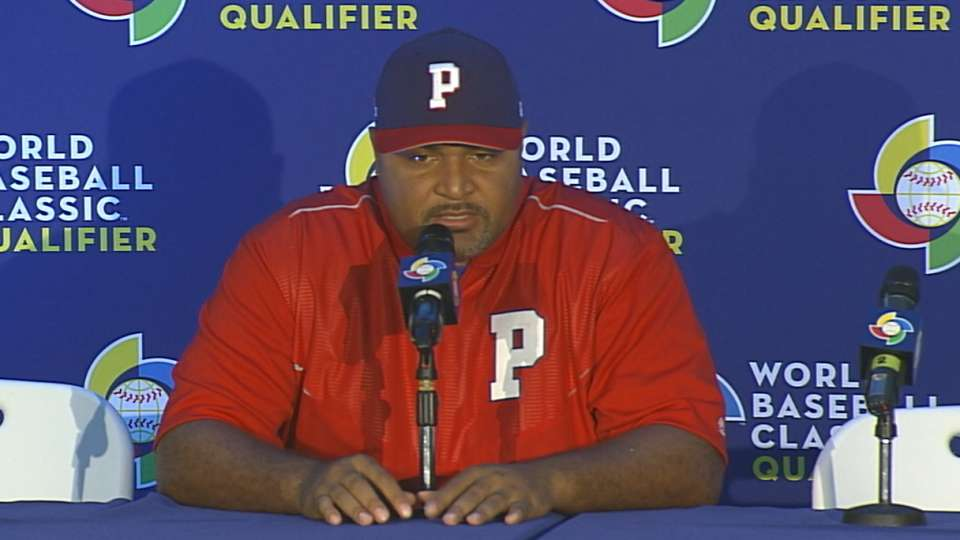 Carlos Lee on loss to Colombia
