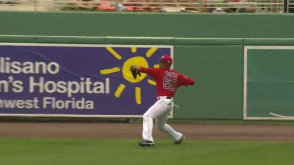 Betts turns double play