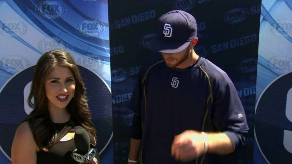Spangenberg discusses roommate