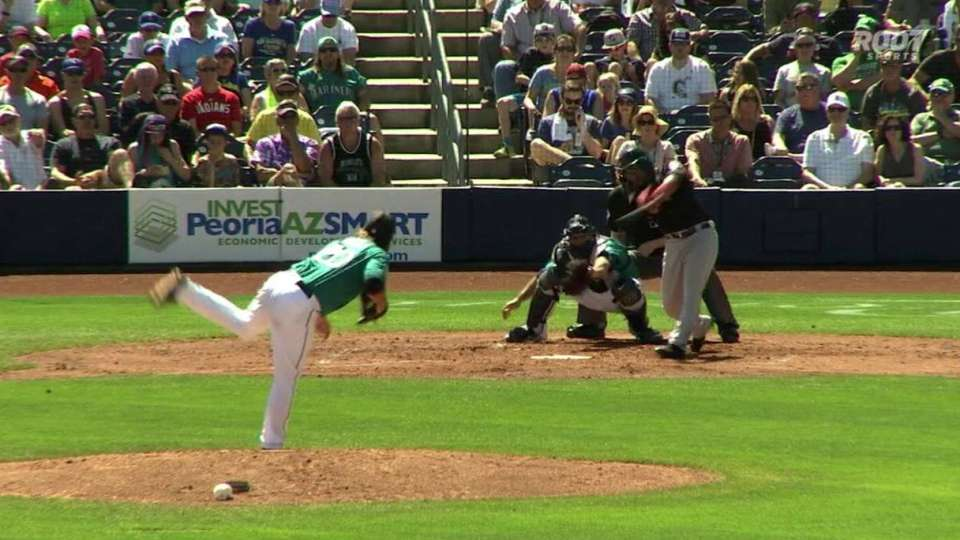 Ramirez's second home run