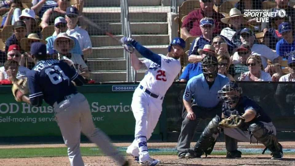 Brown's single drives in two