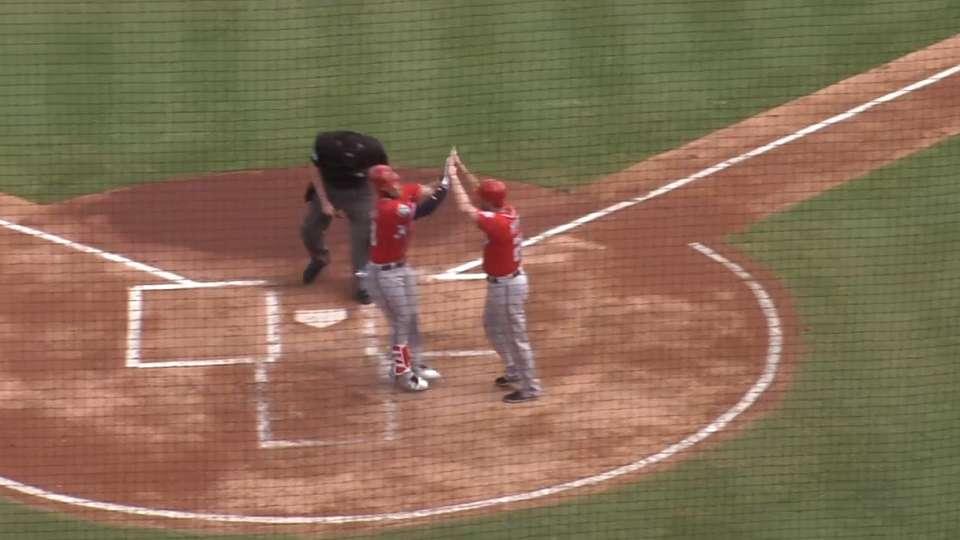 Harper belts two home runs