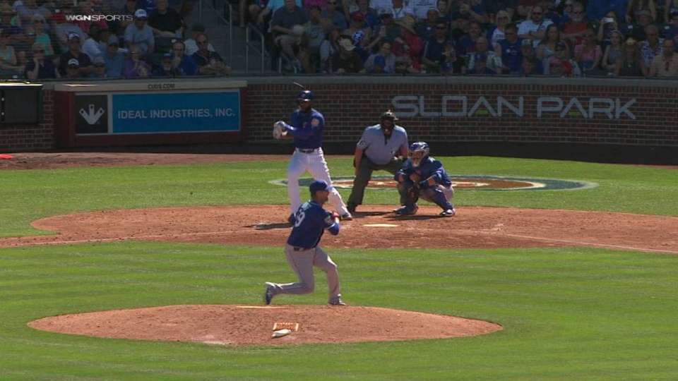 Heyward's RBI single