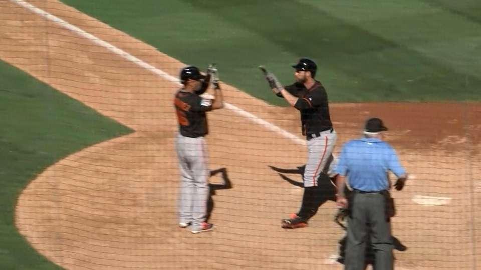 Belt's four-hit, four-RBI game