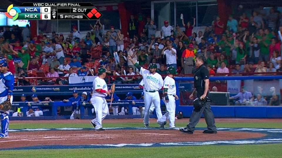 Mexico's six-run 2nd