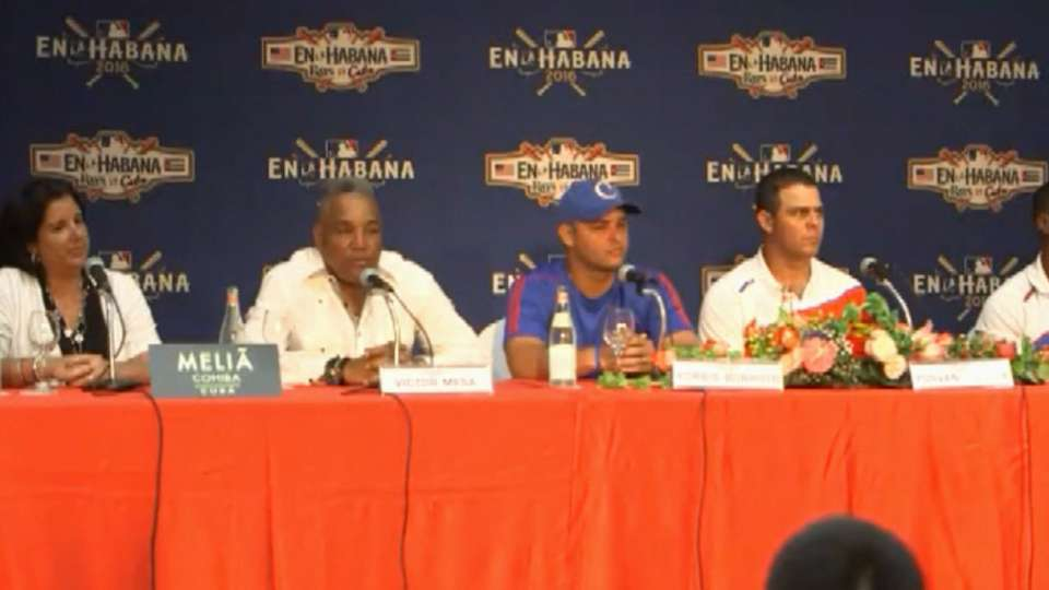 Cuban team on facing Rays