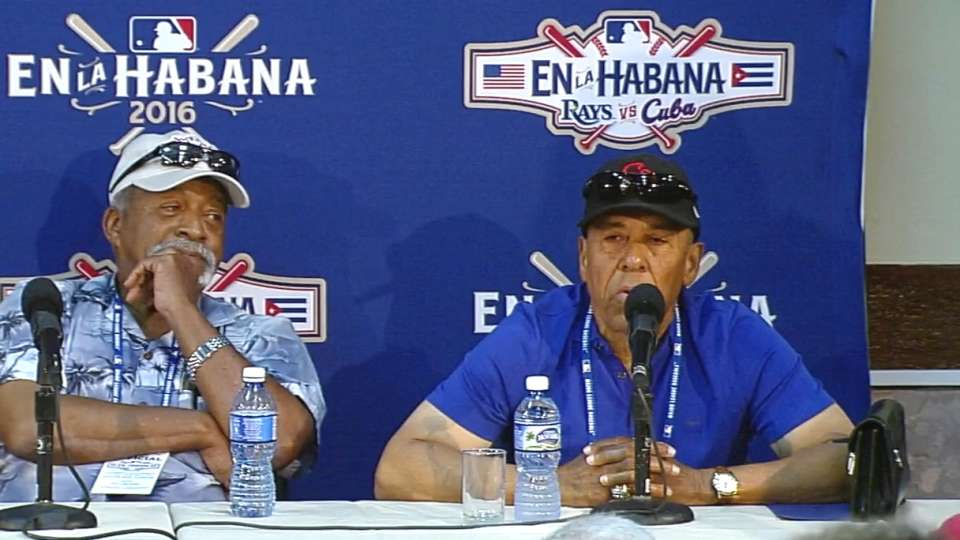 Tiant, Cardenal on Cuba game