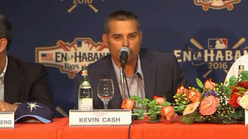 Cash on Varona returning to Cuba