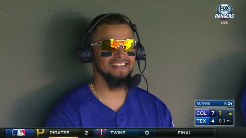 Odor discusses being a veteran